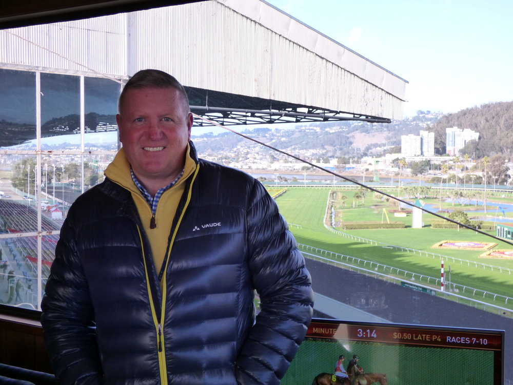 Golden Gate Fields is one of North America's fastest growing racetracks in terms of handle growth. But that's only part of the story as Giles Anderson found out when he recently sat down with Golden Gate Fields General Manager and Vice President David Duggan.        GA: You've been at Golden Gate Fields now for nearly eighteen months, running the track since October 2017. The figures from your first winter/spring meet were up massively, and then the summer meet was up 29%. What have you done to achieve such staggering growth?      DD: We made a lot of changes. It became quite a fast-moving, changing environment. What we discovered was that we have a lot of people who've been here for many, many years, but there hadn't been any adrenaline shot given to the place for quite some time, so we did change it, but it wasn't necessarily all down to me. There was a lot of people involved in this, and I was keen to have a younger crew in the management of the facility. They're great at connecting and they understand what their friends and colleagues are thinking, and they tell me. I feel all the talk about getting the young people in, and we have an aging demographic that follows horse racing. The only way to connect with young people and the millennials, and all these different groups that people are putting together now, is to listen to young people and that's what we have.     We've spent a lot of time since I came here, both myself and Cynthia Sidle—my special operations manager in San Francisco. We speak to and go and shake hands and meet lots of different groups. We've made a very big effort in Chinatown because I obviously know the Asian market quite well. We take bus loads of them to come out here on a Saturday to see us. We've spent a lot of time with the LGBTQ community and we've had some very, very successful events with them as well and indeed the Hispanic population which is very, very big in the city. We have a specific Latin festival here in the summer which is 
