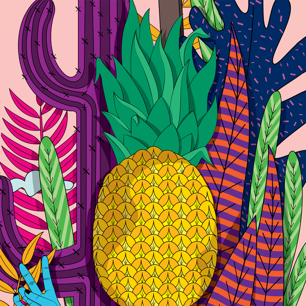 'Pineapplehead' by   Shruthi Venkataraman