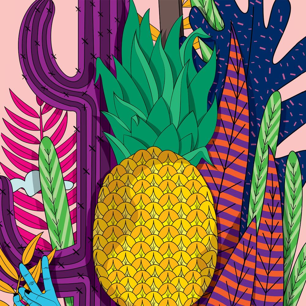 'Pineapplehead' by Shruthi Venkataraman