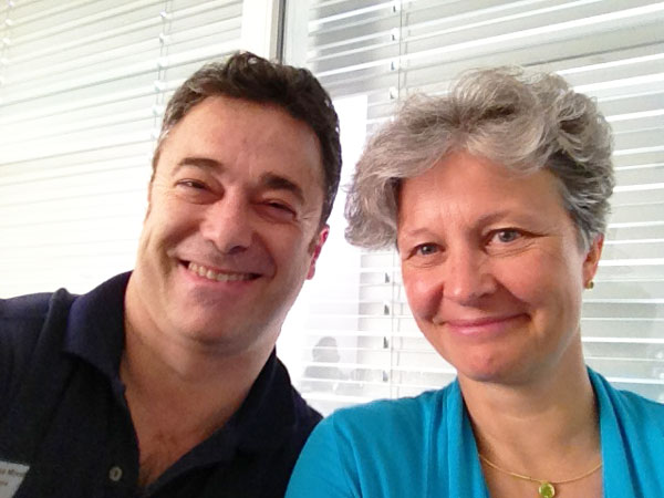 Con Christina Bertram, fisioterapista per scoliosi con SpiroTiger  (Bertram.ch)