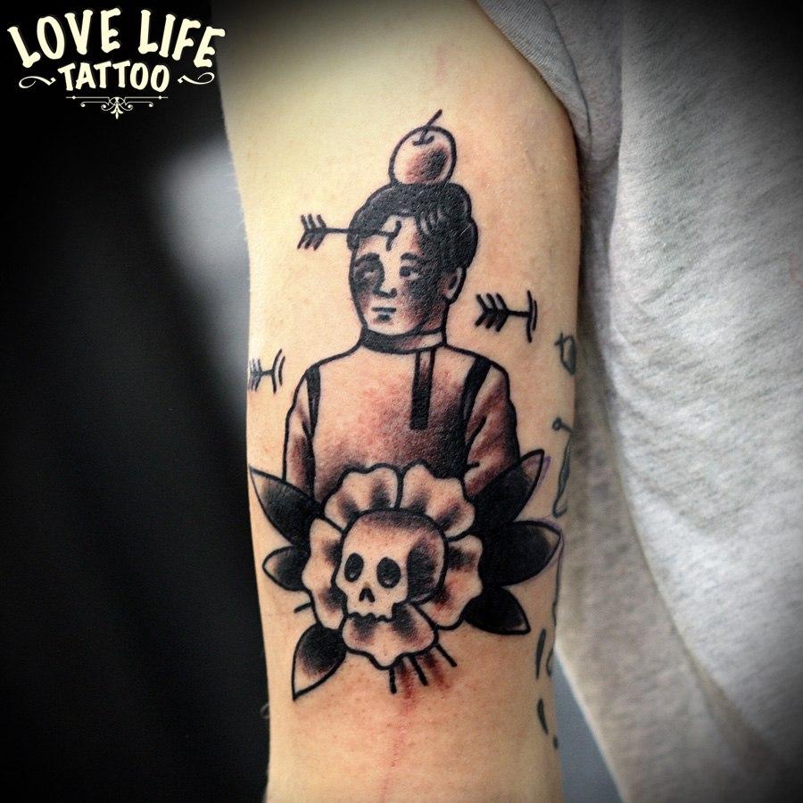 татуировка мальчика