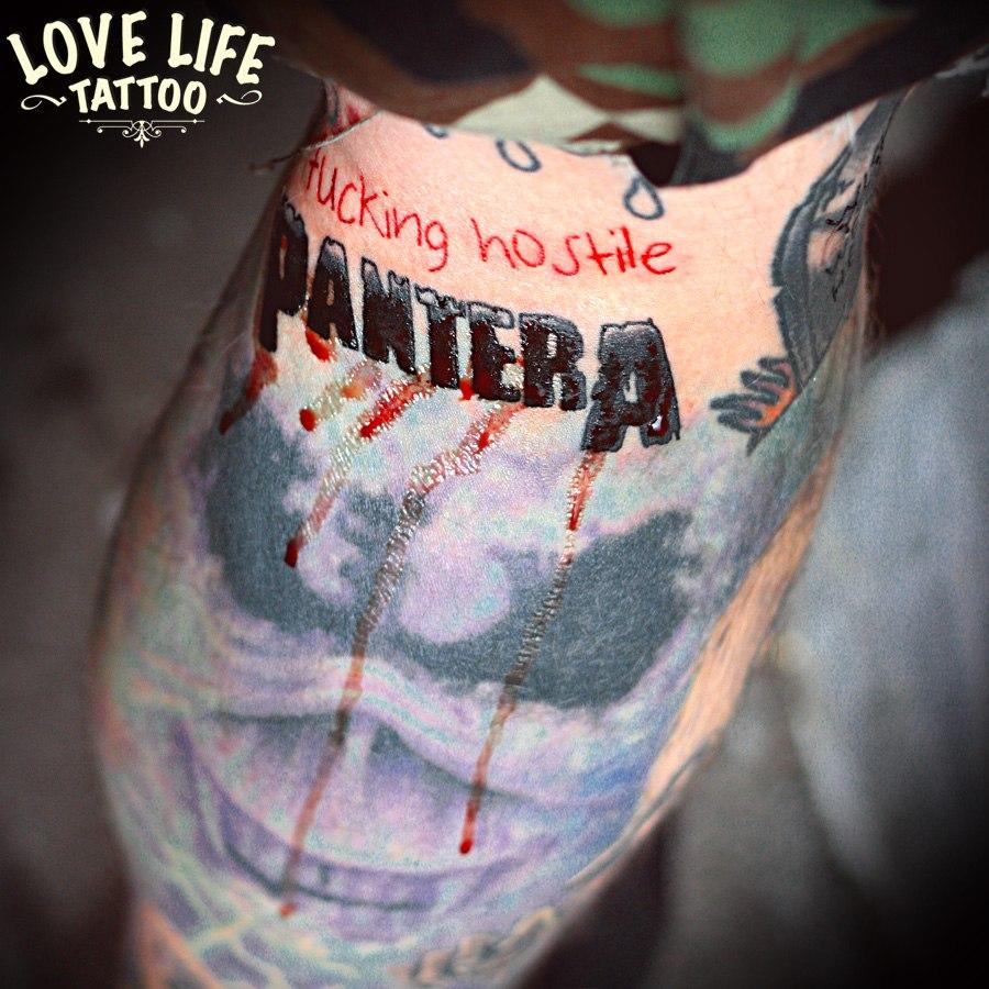 татуировка Pantera