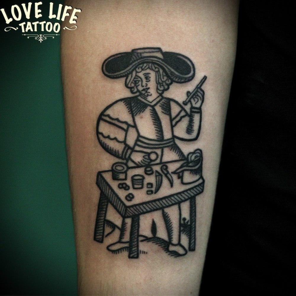 татуировка ремесленника