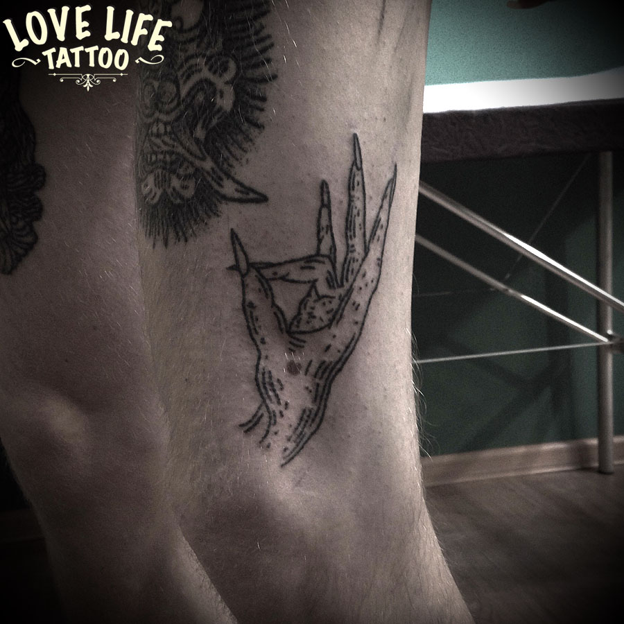 татуировка руки