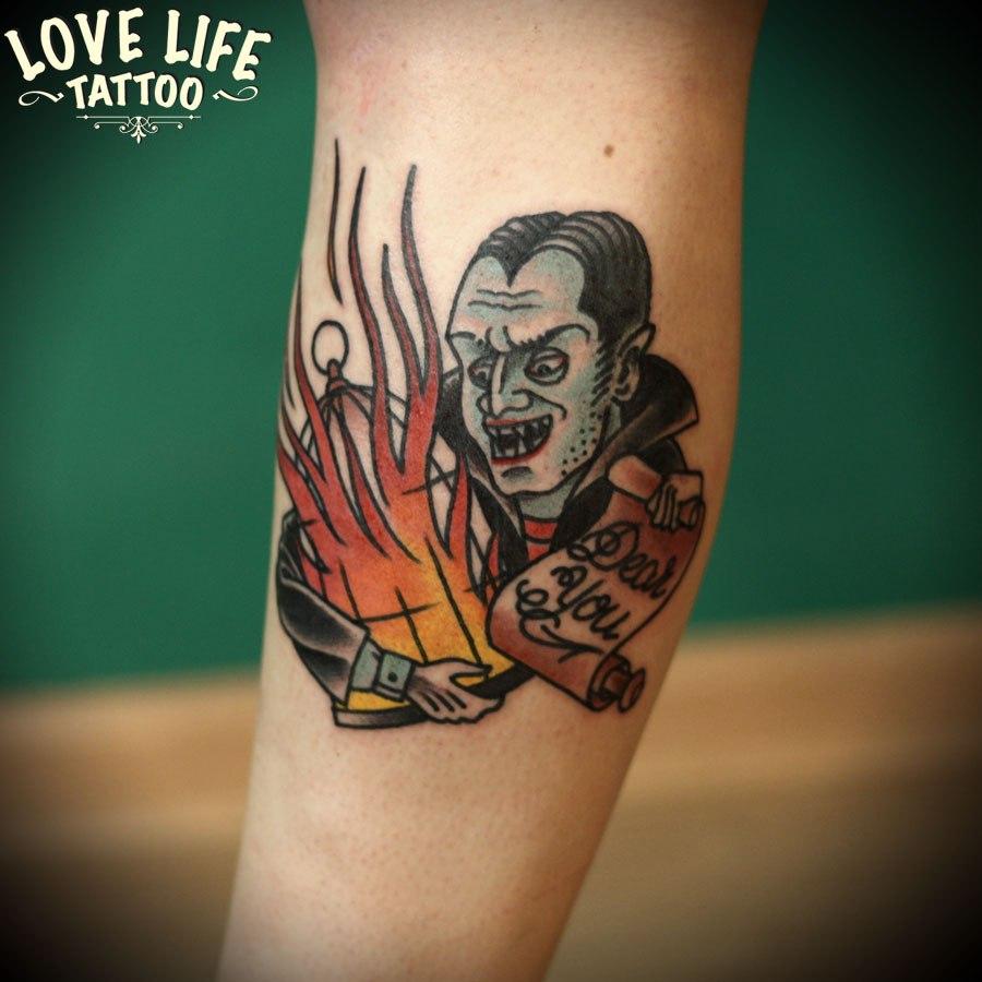 татуировка вампира