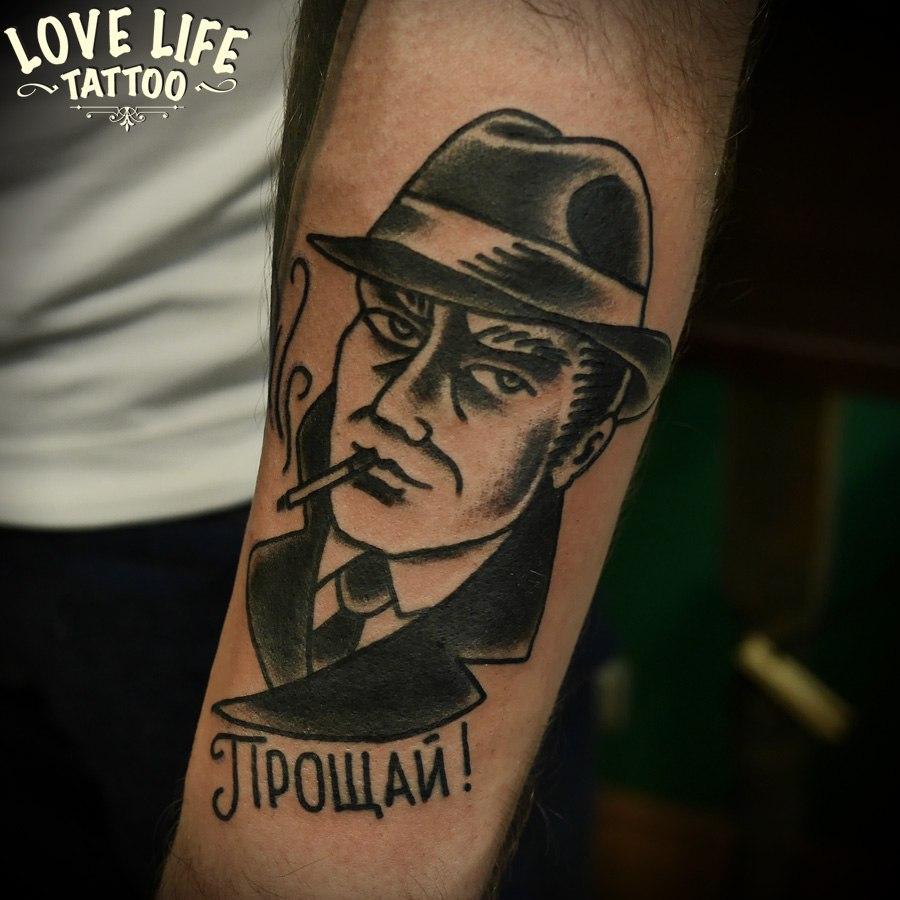 татуировка мужчины