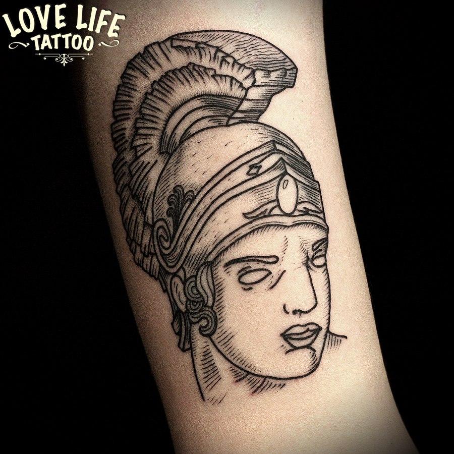 татуировка головы