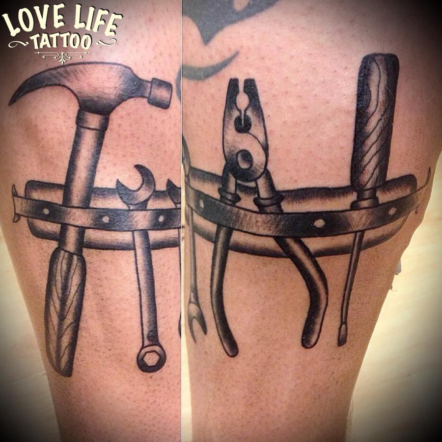 татуировка инструментов