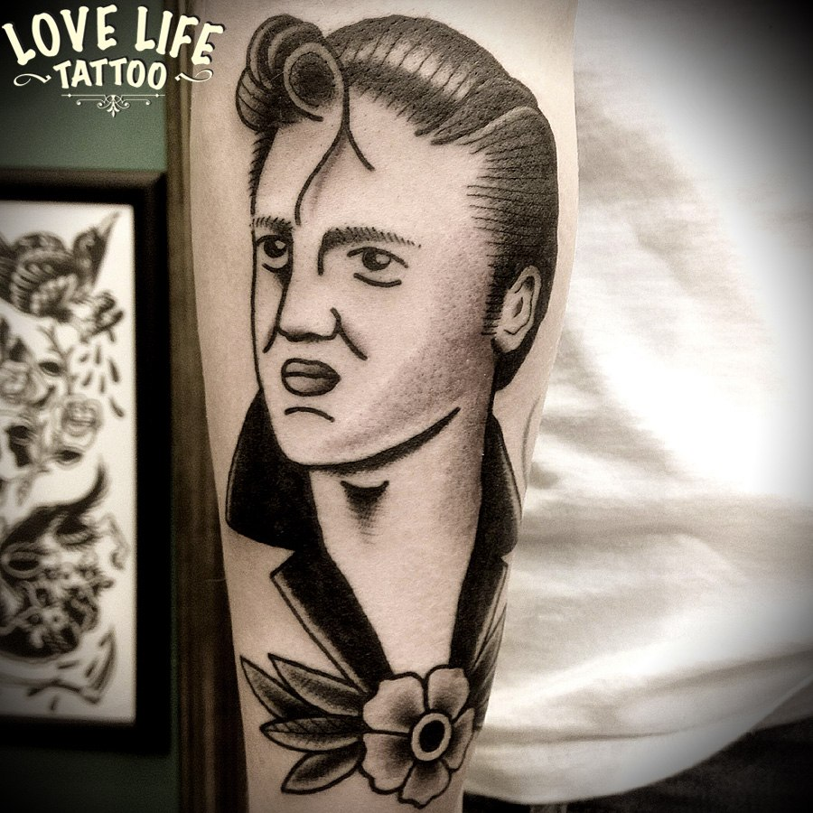 татуировка Элвиса Пресли