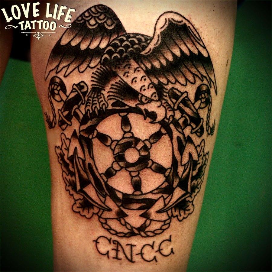 татуировка орла