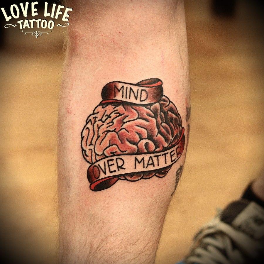 татуировка мозга