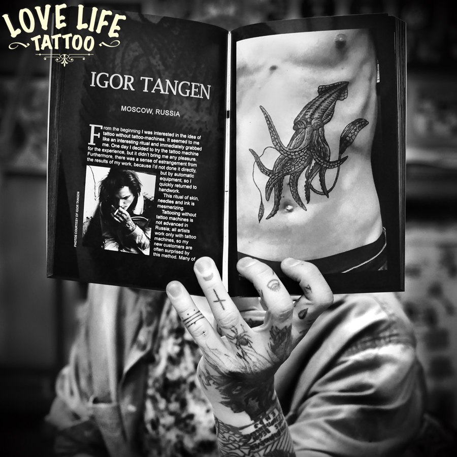hand poke tattoo book - Игорь Танген