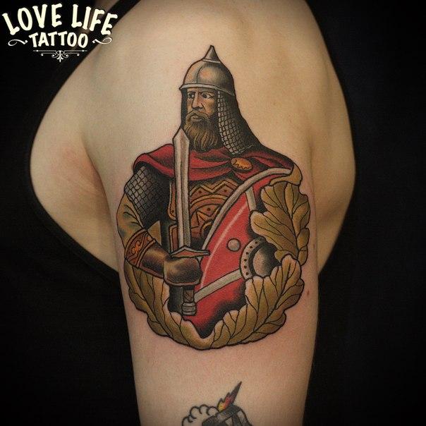татуировка воина