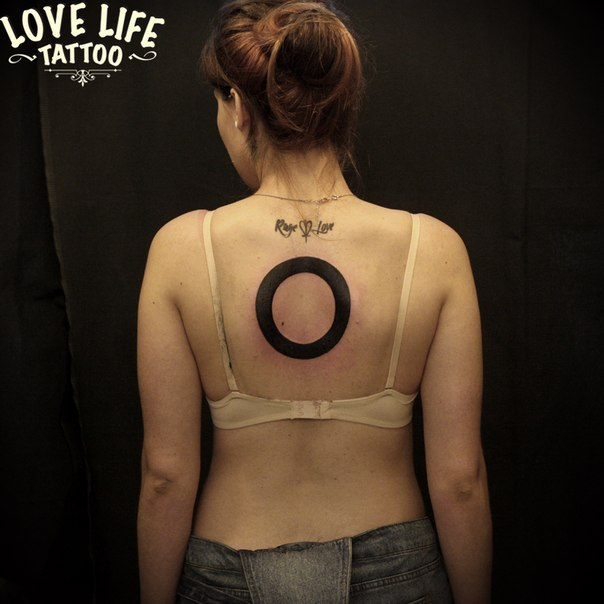 татуировка круга