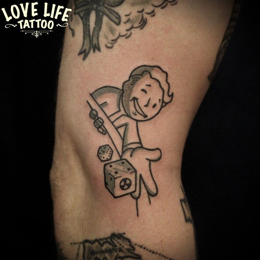 татуировка игрока