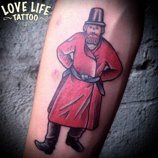 татуировка мужика