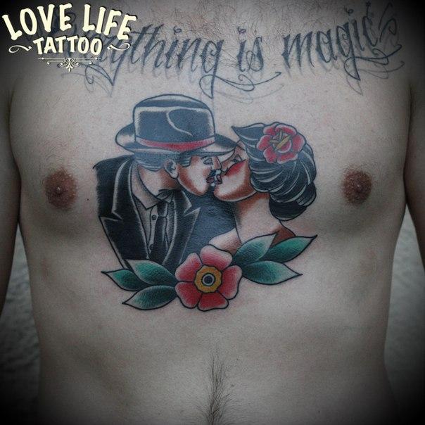 татуировка пары