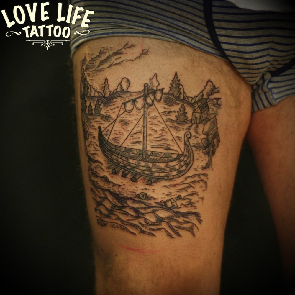 татуировка ладьи