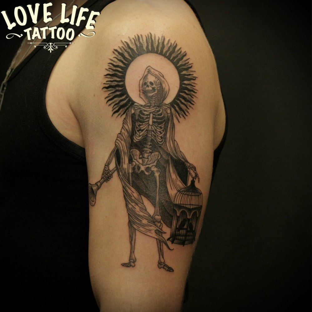 татуировка смерти