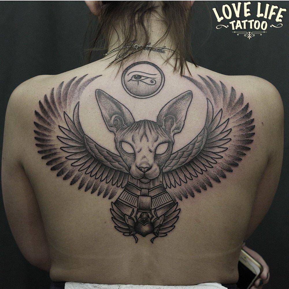 татуировка кота