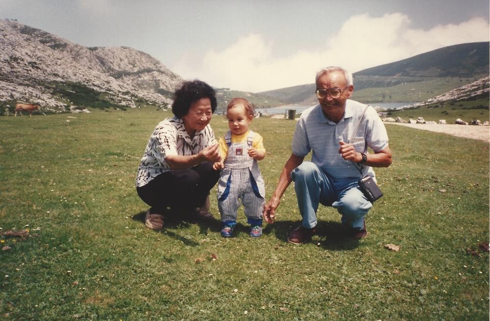 Lago Enol, 1990.