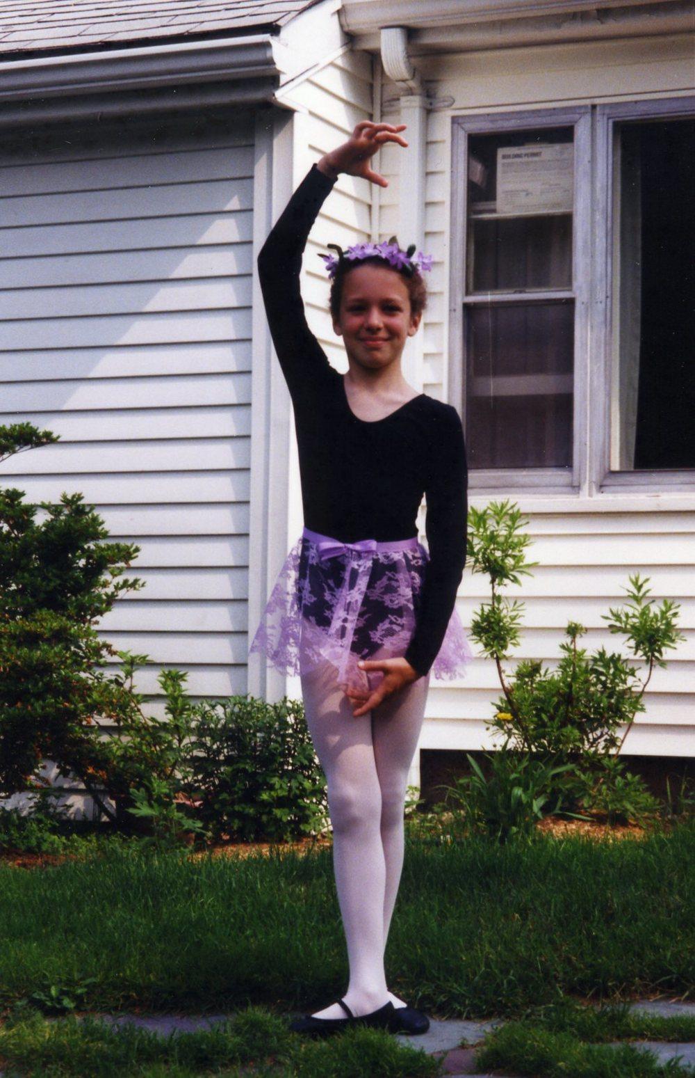 Mary Ellen, age 8.