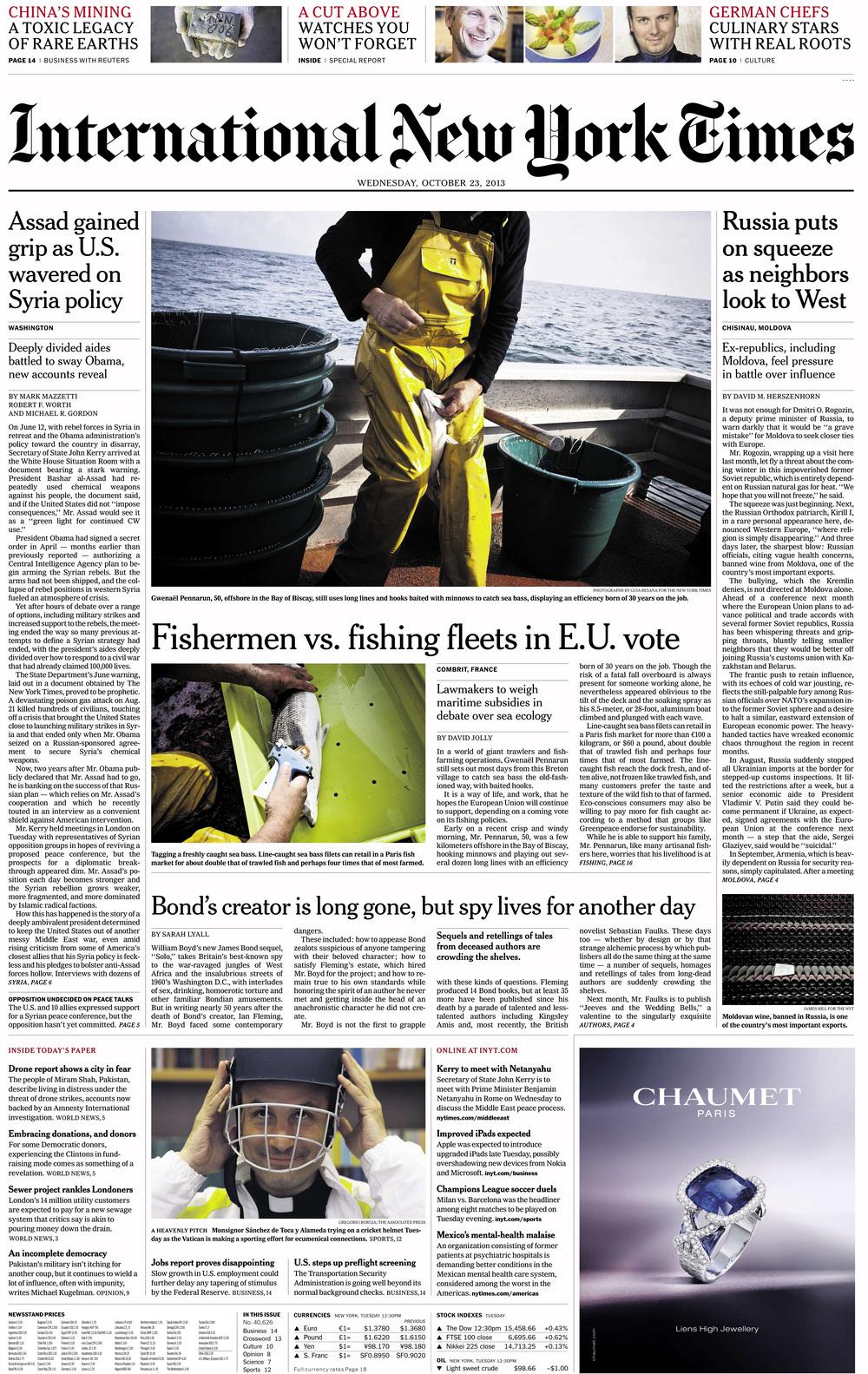 International New York Times -...