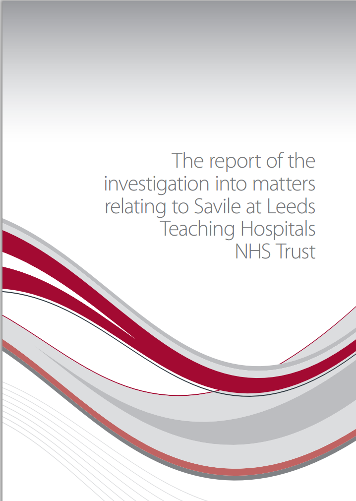 The report of the investigation into matters relating to Savile at Leeds Teaching Hospitals NHS Trust
