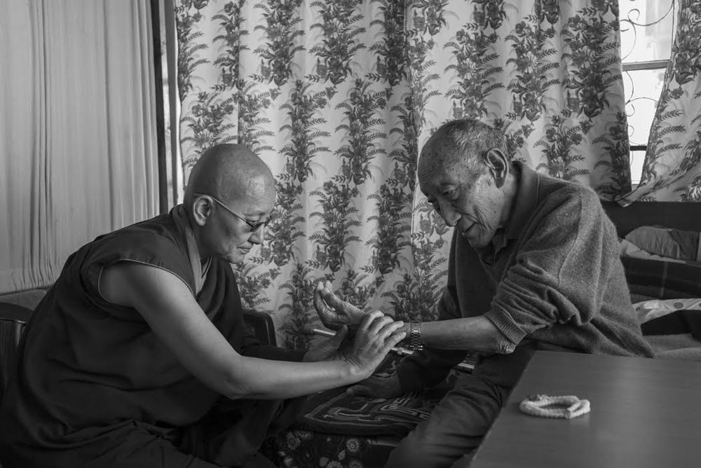 Where Rinpoche is well looked after by his nun doctor