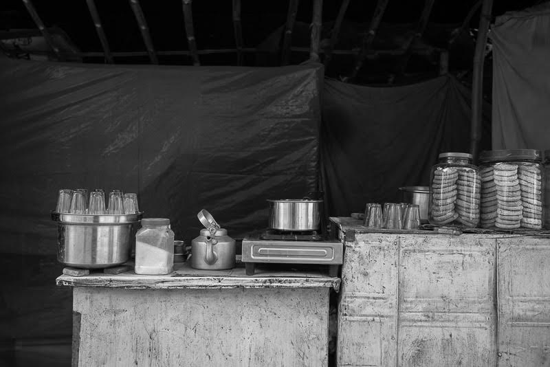 clean tea stalls