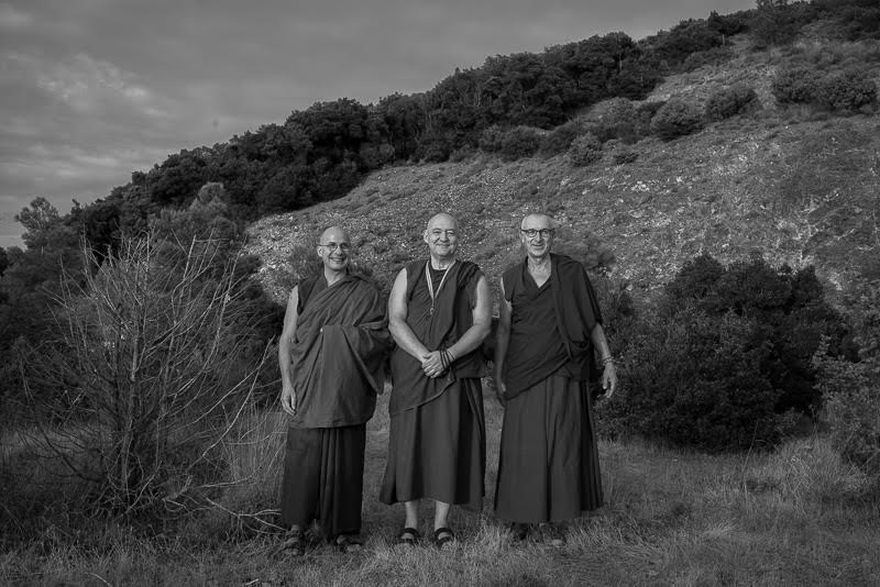 where fellow monks plan a monastery