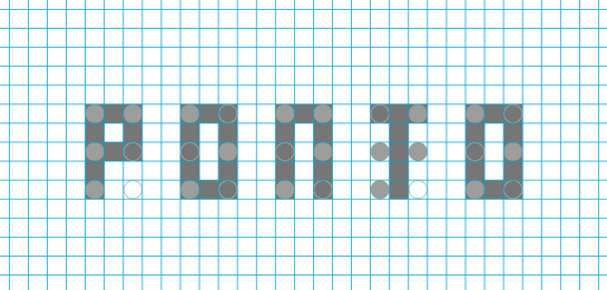 Grid a partir das colunas e linhas do Braile