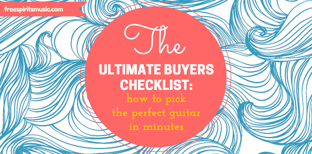 ultimate buyers checklist