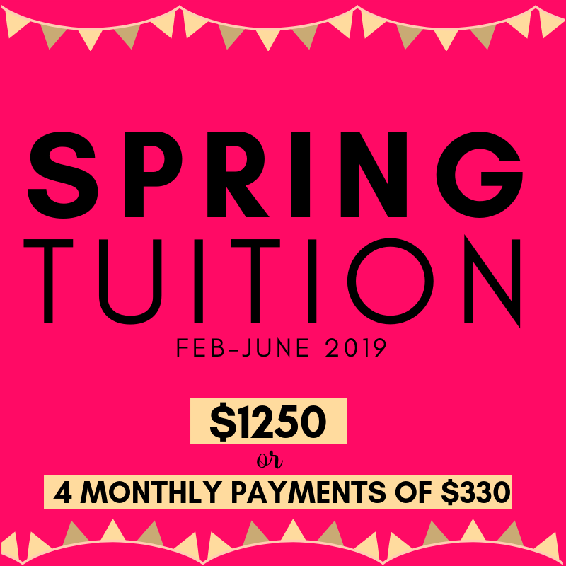 spring tuition