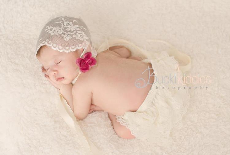 DIY Vintage Lace Bonnet for Newborns or Children — Amanda Stock ... 05a639c9c15