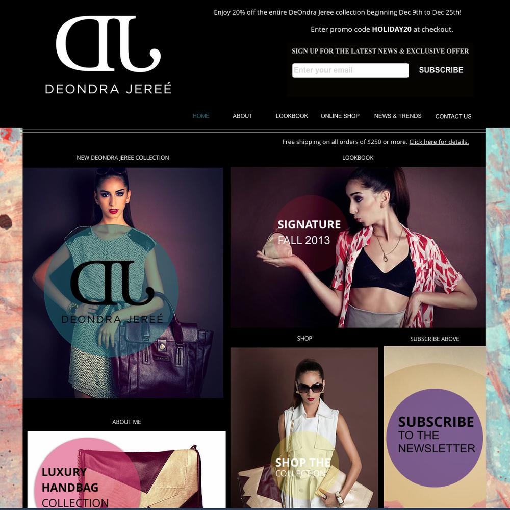 Deondra Jeree - Handbag Designer