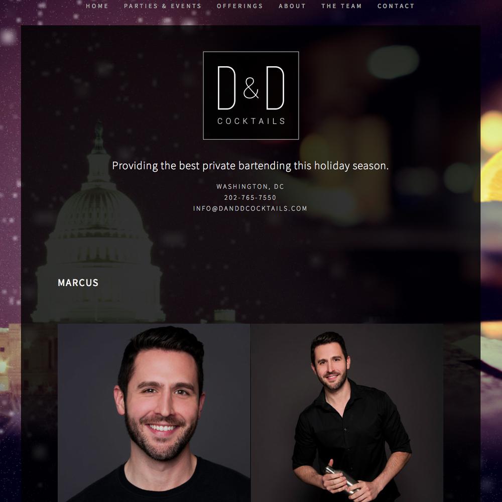 D&D Cocktails - Private Bartending Company