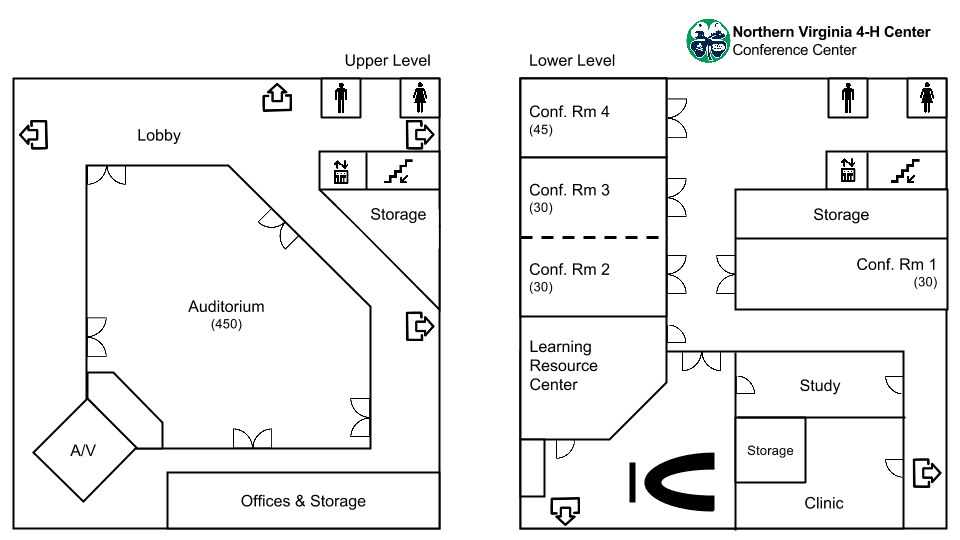 View the Conference Center layout or download a PDF version.