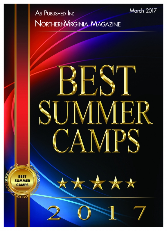 Voted one of Virginia's Best Summer Camps in 2017 by Northern Virginia Magazine