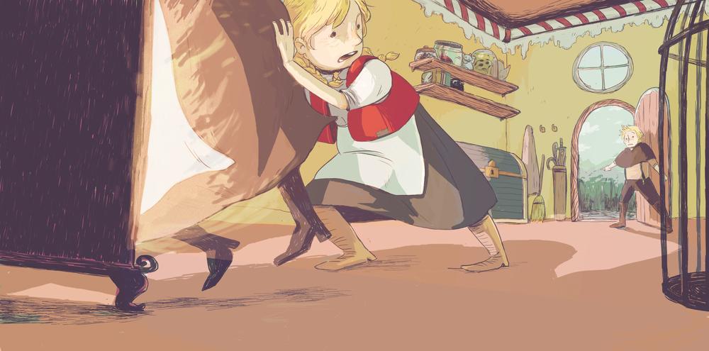 Concept Art - Hansel & Gretel