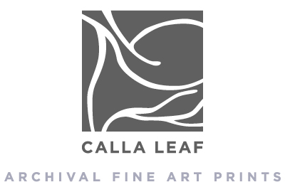 CALLA LEAF - archival fine art prints
