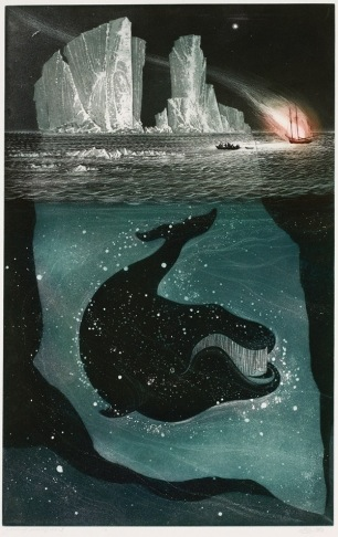 David Blackwood, Fire down on the Labrador, 1980, etching and aquatint on wove paper, 87.9 x 61.9, Gift of David and Anita Blackwood | Art Gallery of Ontario