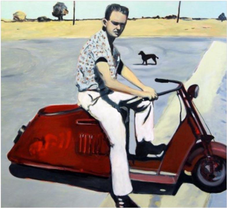 Tramp the Speedway Poodle, by Kate Scoones.jpg
