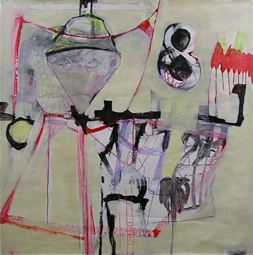 """Studio"" 48"" X 48"" Jill Ehlert"