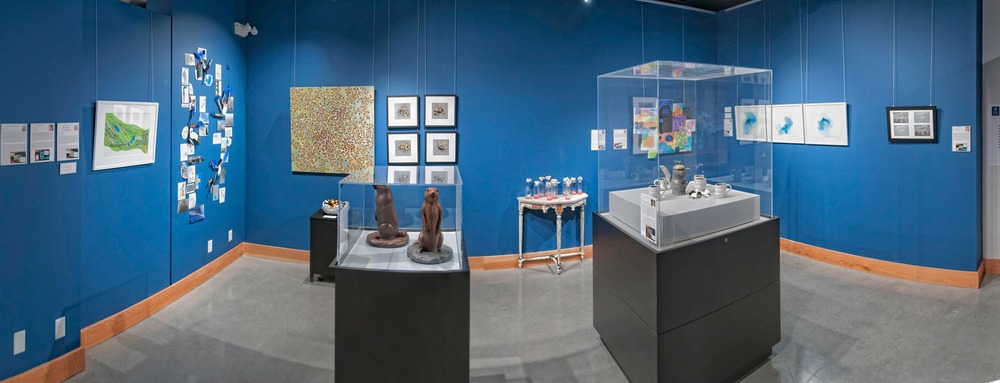Panorama of the exhibition space