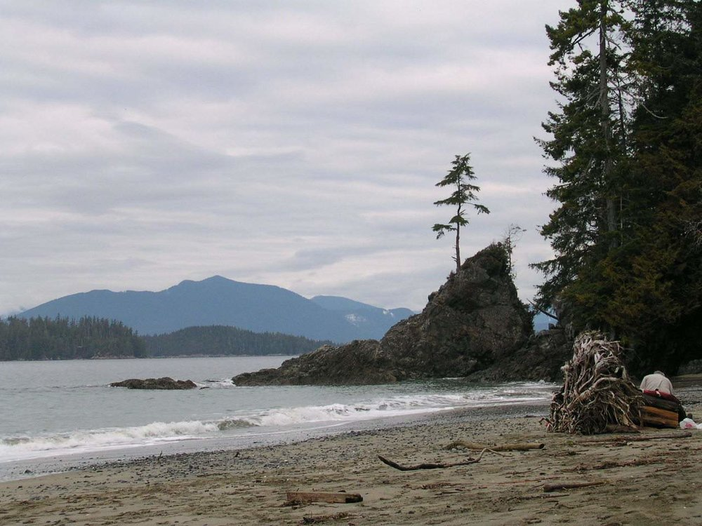 Bamfield - Brady's Beach - sketch photo.JPG
