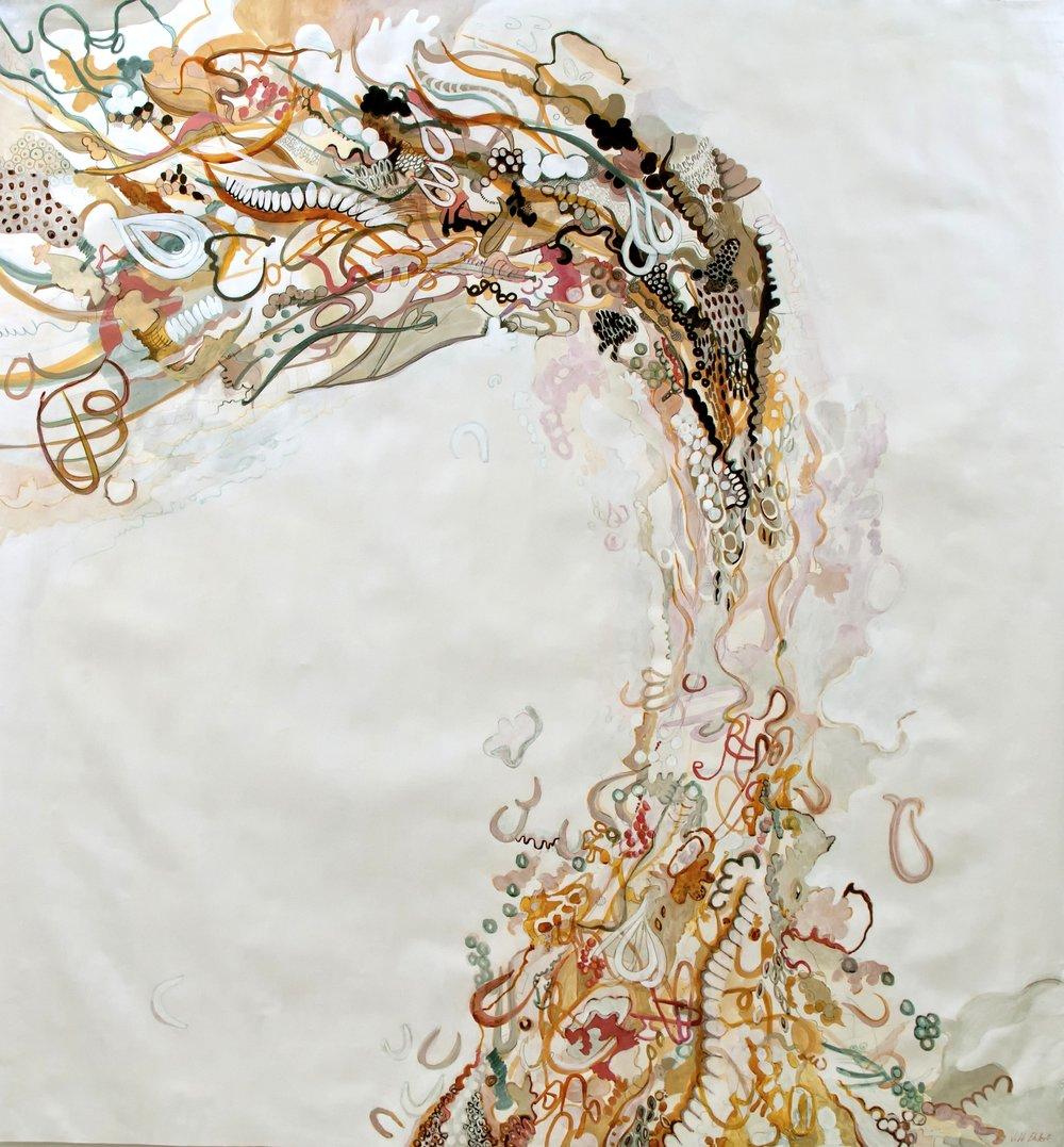 """Flow"" - JIll Ehlert © - 48"" x 48"""