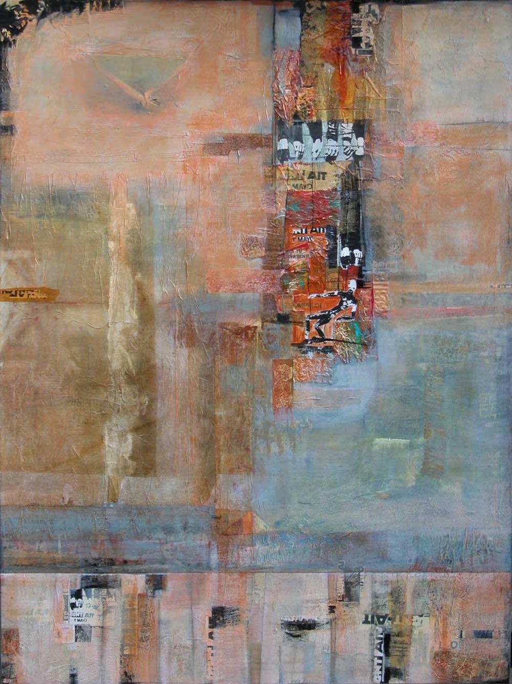 """Spanish Wall"" - Jill Ehlert ©48"" x 36"""
