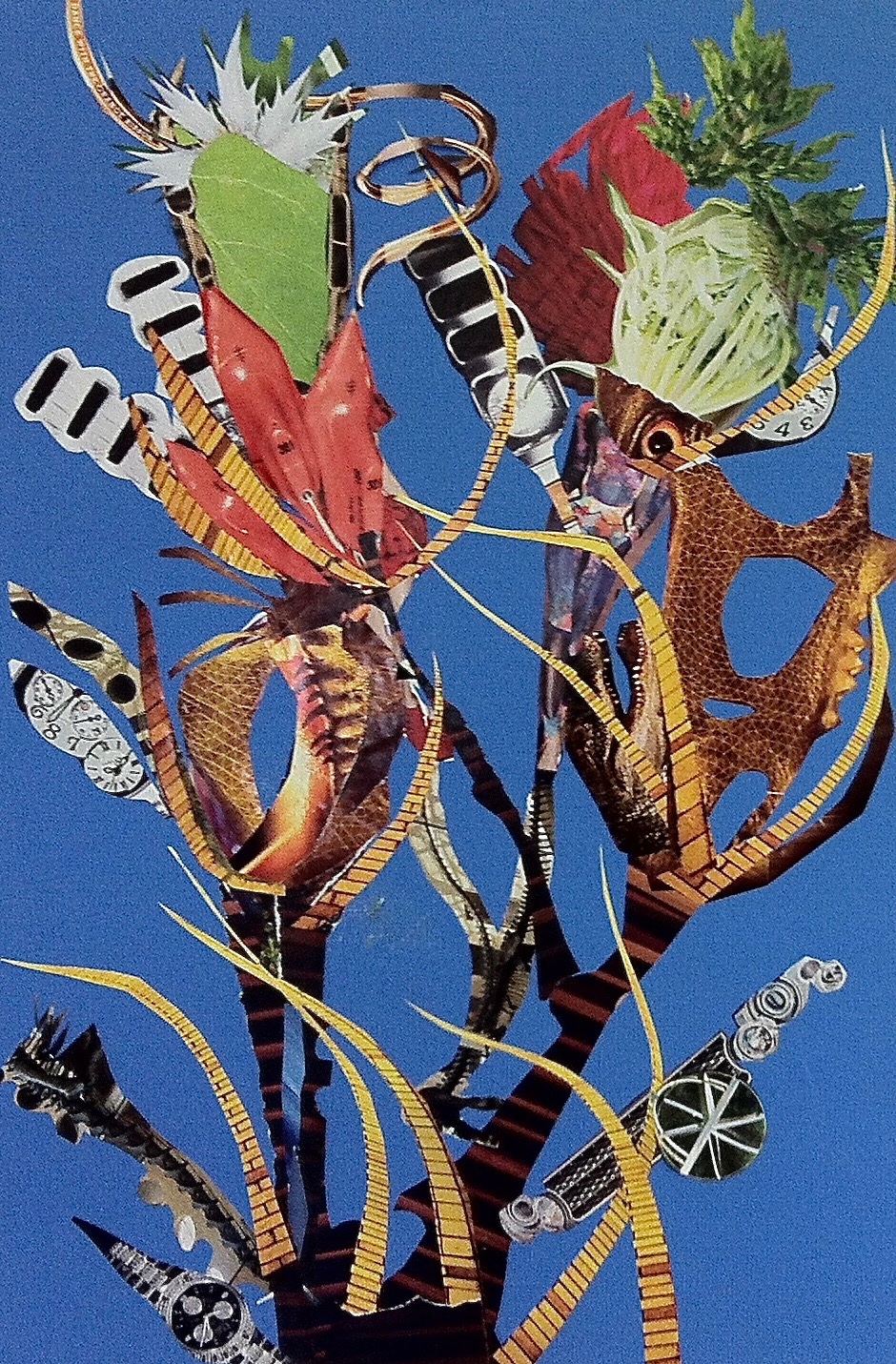 Fantastical Botanical Collage - Jill Ehlert