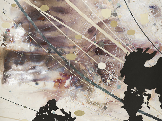 "Detail of ""String Theory"""